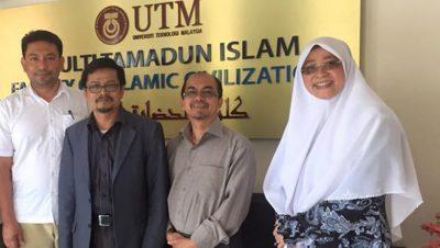 Meeting with Dr Ramli, Prof Kamaruzzaman and Prof Suhila UKM in UTM Skudai