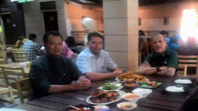 Lunch meeting with Dato' Nadzim, the President of Persatuan Pengguna Malaysia