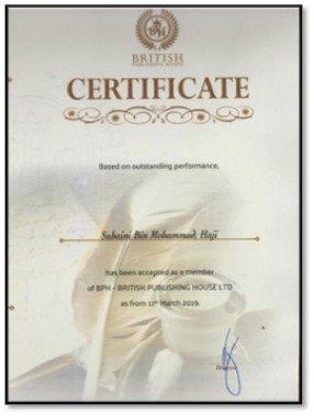 British Publishing House Recognition