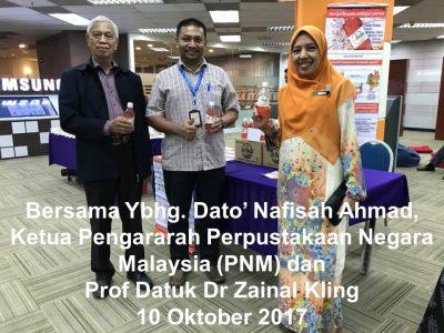 National Library - Porf Datuk Zainal and Dato' Nafisah- DG